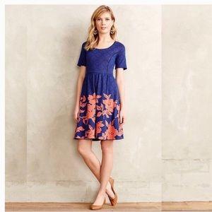 Anthropologie HD in Paris Blushed Blooms Dress
